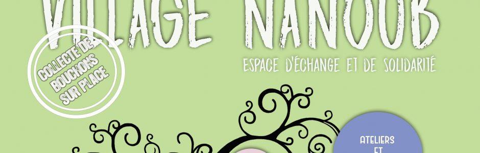 VILLAGE NANOUB – Samedi 18 mai à Corbeil-Essonnes de 14h à 18h